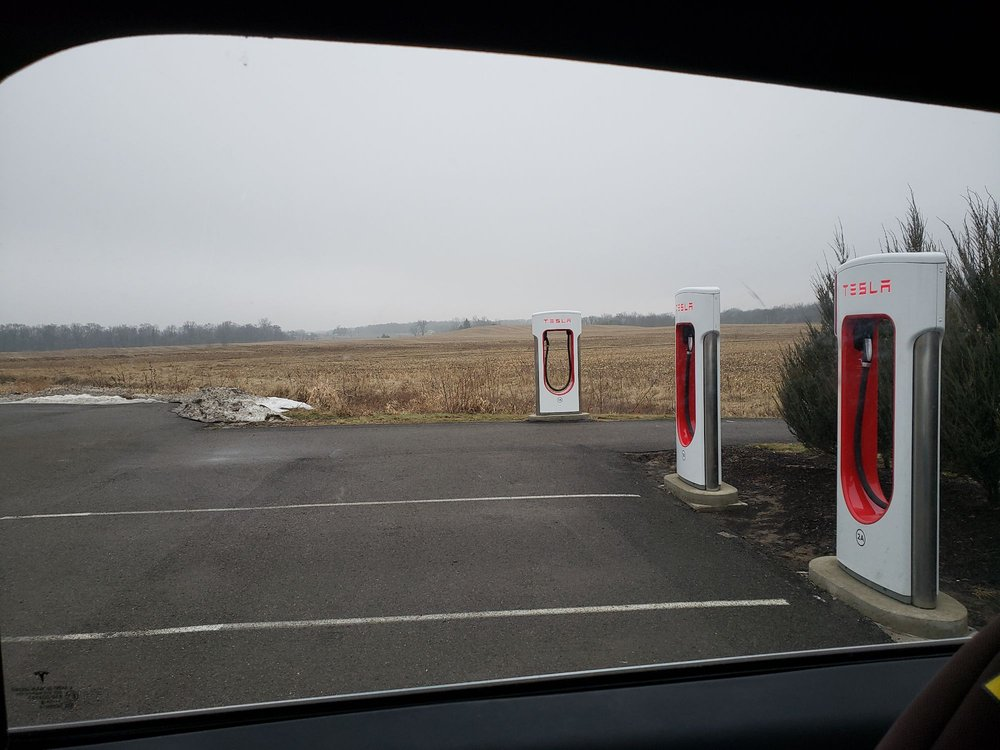Tesla Supercharger: 6200 State Route 95, Mt. Gilead, OH