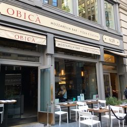 photo of obic mozzarella bar pizza e cucina new york ny united states