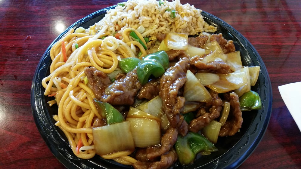 Pepper Steak Soft Noodles Fried Rice 4 17 2016 Yelp