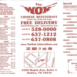 Chinese Food In Dallas Tx Delivery