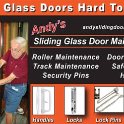 andys sliding glass door maintenance door sales installation