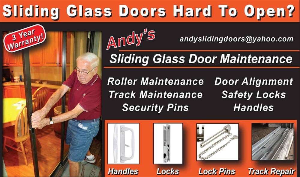 Andy S Sliding Glass Door Maintenance Installation 5409 Overseas Hwy Marathon Fl Phone Number Yelp