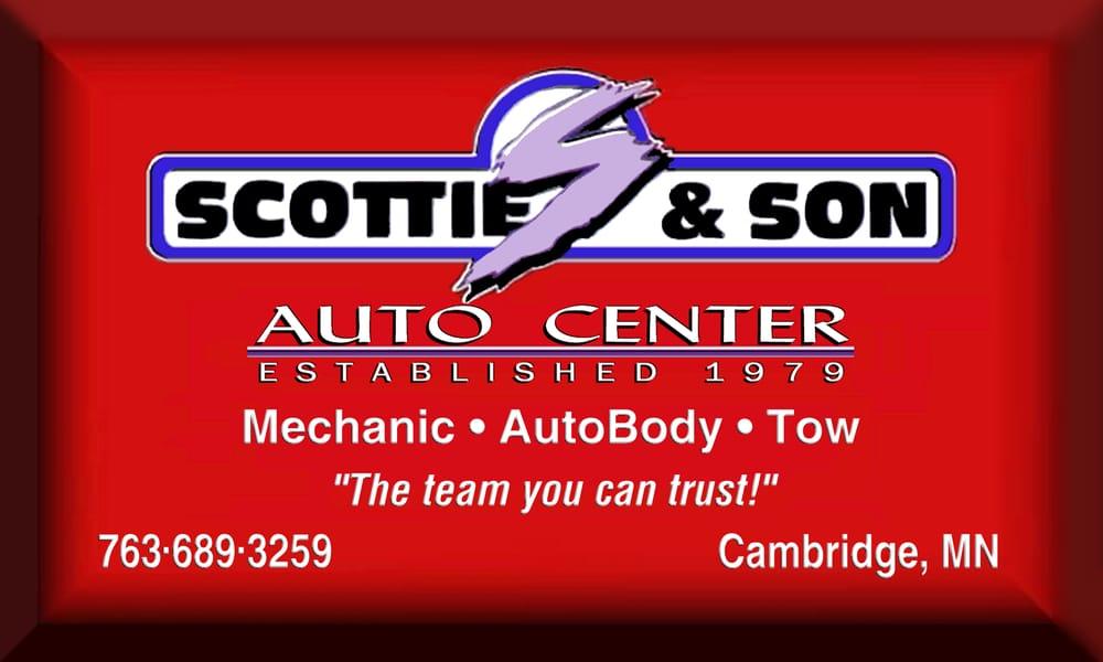 Scottie & Son Auto Center: 2555 Hwy 95 NW, Cambridge, MN