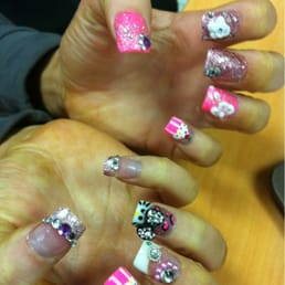 Photos for nail art studio yelp photo of nail art studio westlake oh united states all hand painted prinsesfo Images