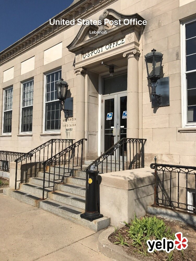 United States Post Office: 304 W Main St, Lebanon, IN