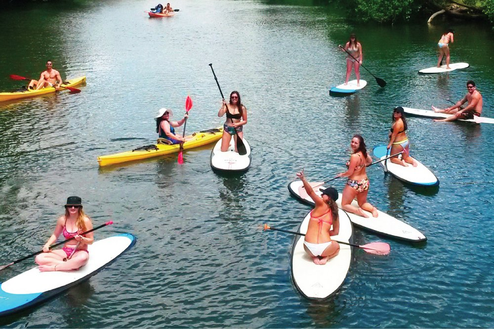 Stand-up Paddle Boars or Kayaks at Hale'iwa River - Yelp