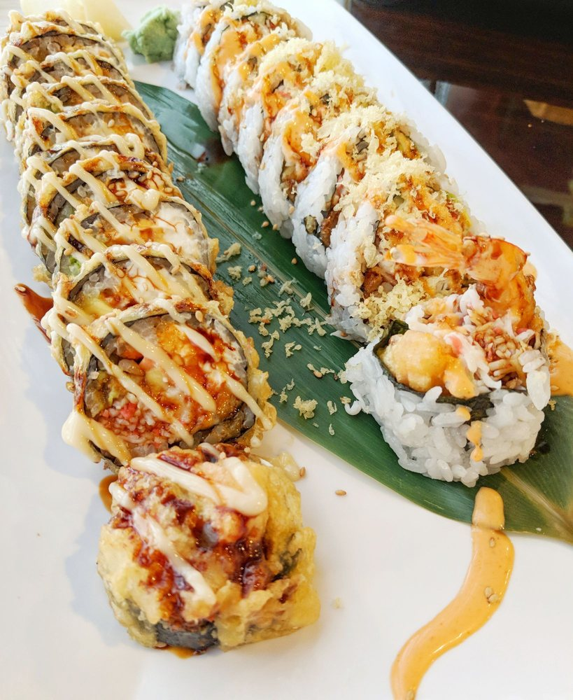 Hamachi Sushi: 9861 Dyer St, El Paso, TX
