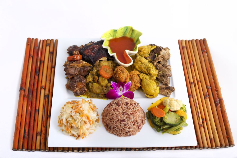 Food from Island Flavors and Tings