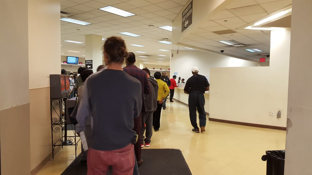 Line At Dmv Was Going Outside Front Door Of Office Yelp