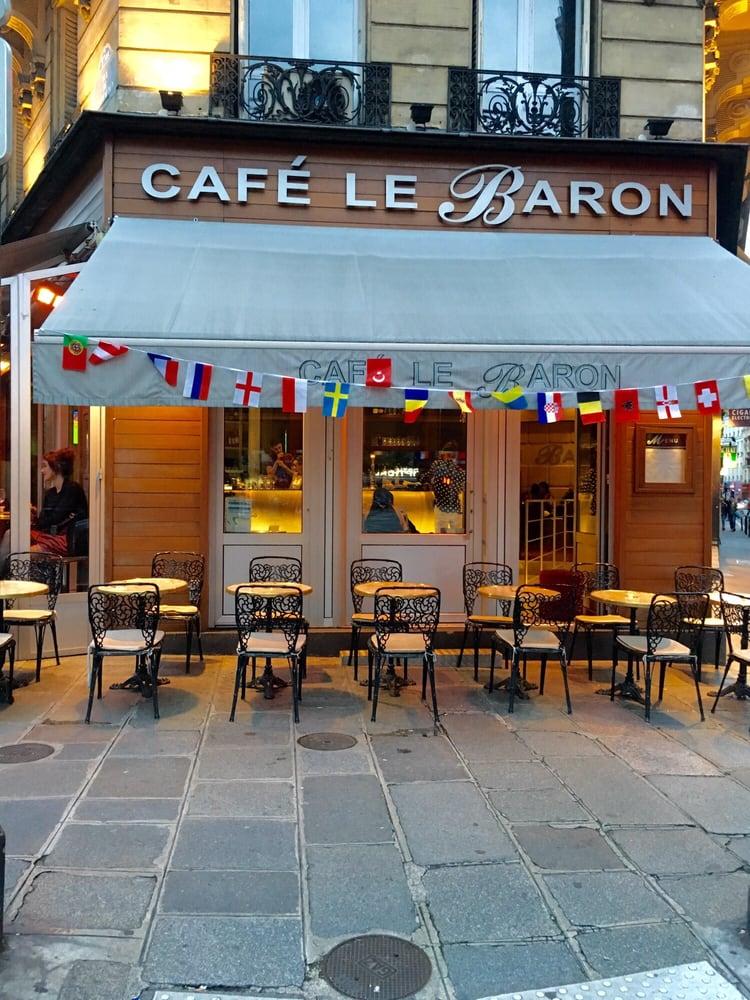 Caf Ef Bf Bd Le Baron Paris