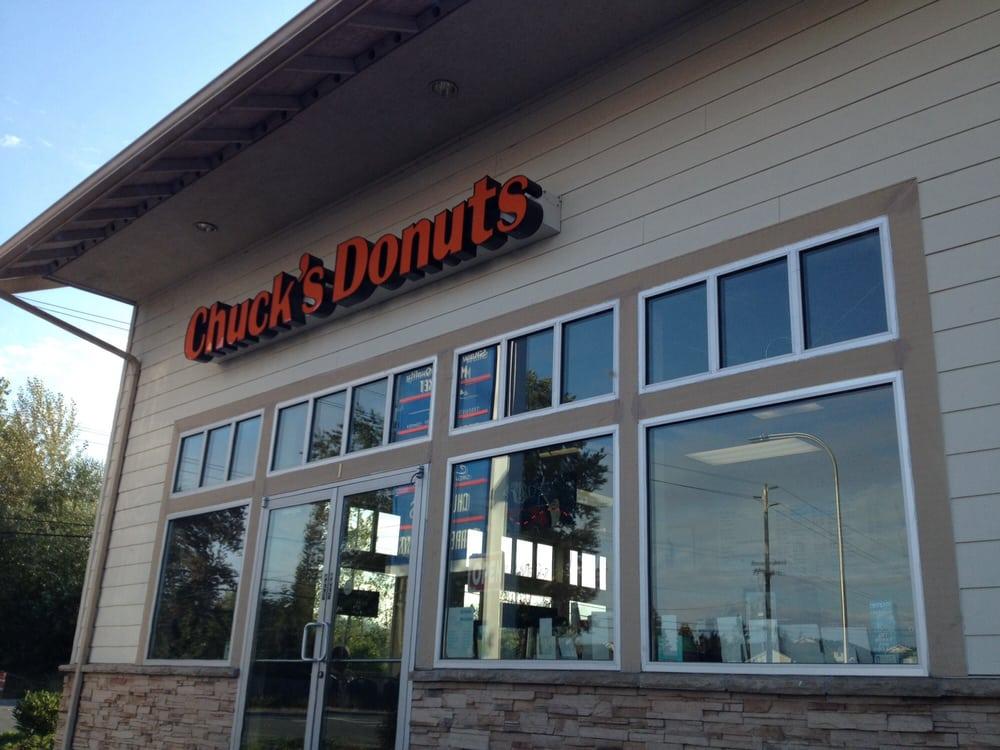 Chuck's Donut Shop: 5335 NE 4th St, Renton, WA