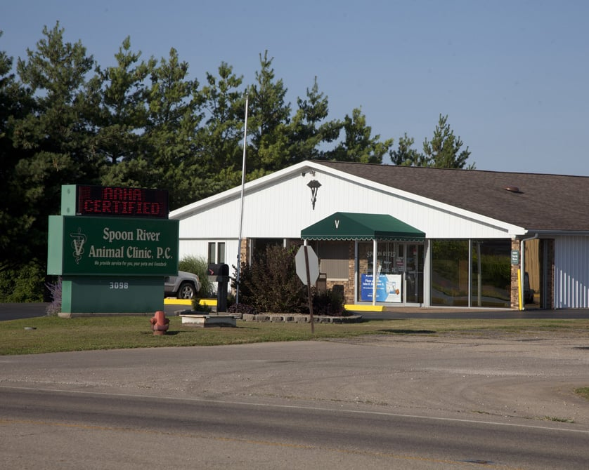 Spoon River Animal Clinic: 3098 N Main St, Canton, IL