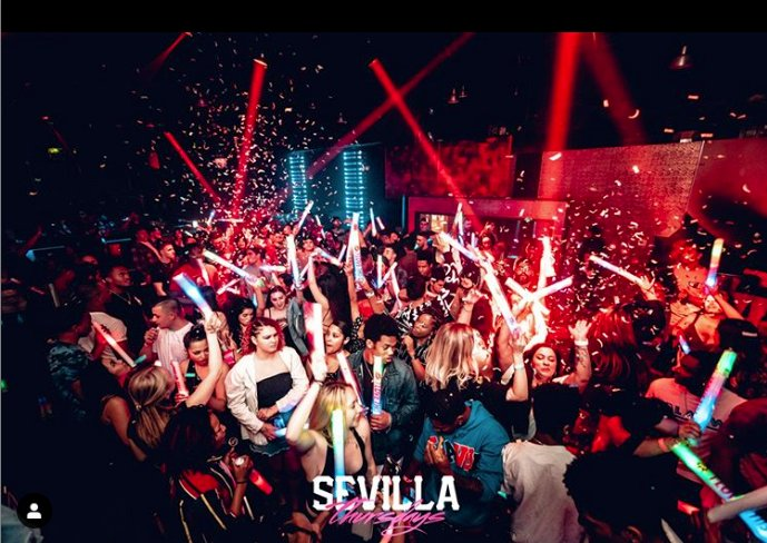 Sevilla Nightclub: 353 5th Ave, San Diego, CA