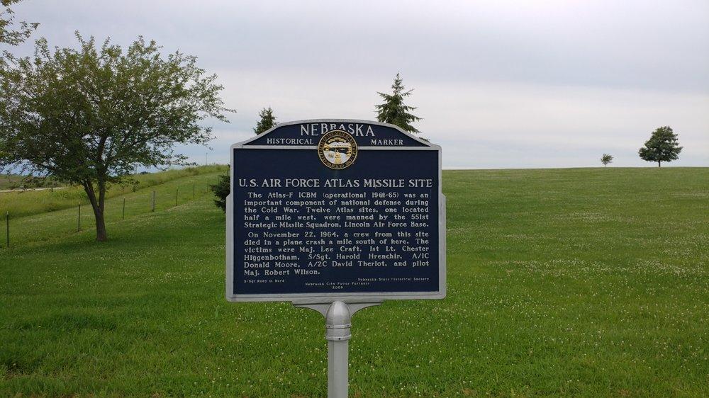U.S. Air Force Atlas Missile Site: 217-229 N 56th Rd, Nebraska City, NE