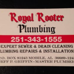 Royal rooter plumbing 11 photos plumbing 162 parkway st e photo of royal rooter plumbing mobile al united states new updated business colourmoves