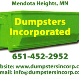 Dumpsters Incorporated Dumpster Rental 596 Kirchner