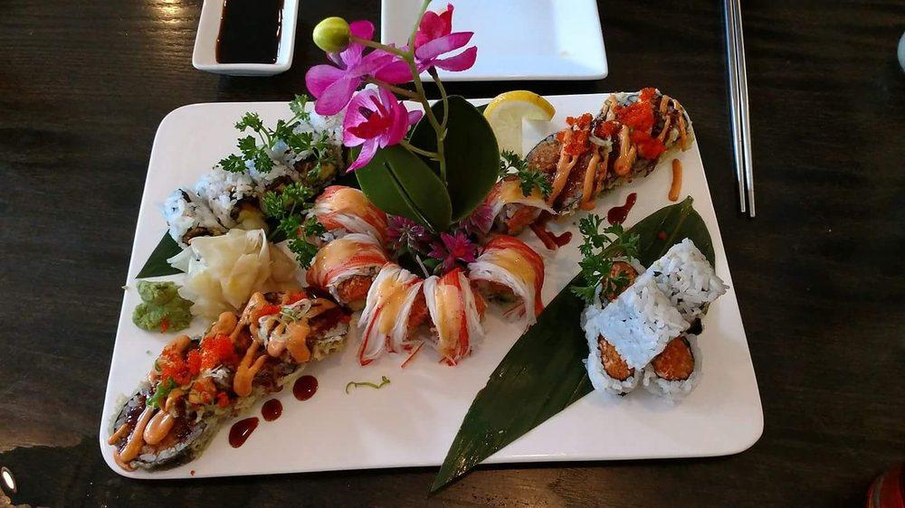 Sake Sushi: 6 E Market St, Black Mountain, NC