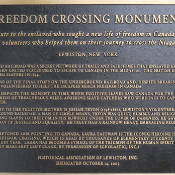 Freedom Crossing Monument - Historical Tours - 110 N Water
