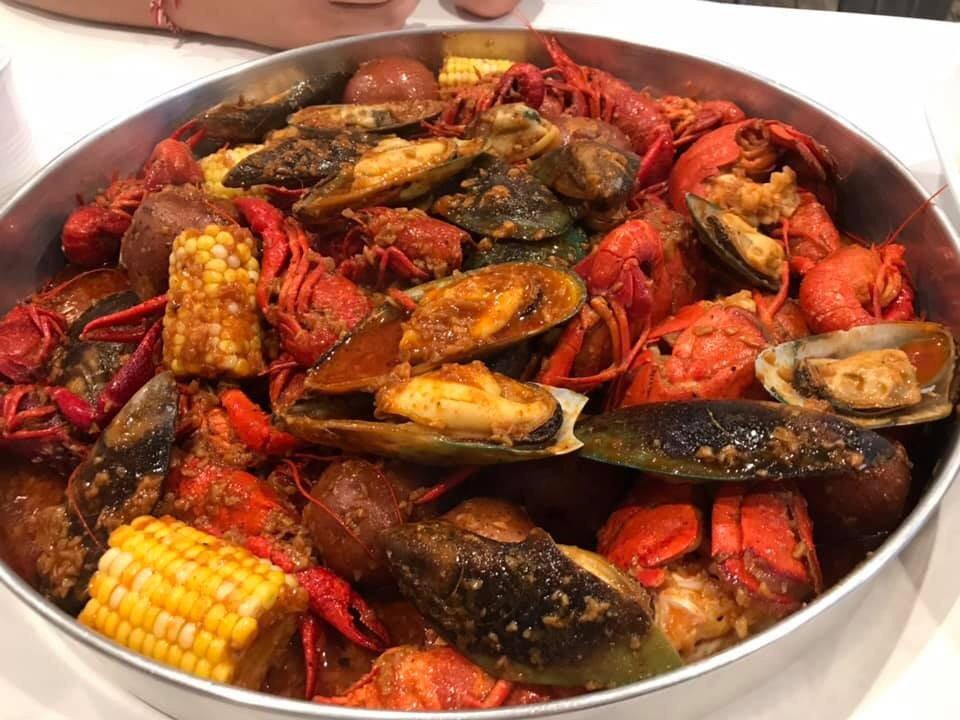 Sweet Cajun Boiling Seafood