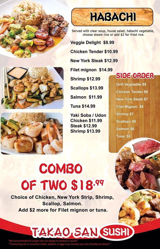 Takao San Sushi: 5930 W Park Blvd, Plano, TX