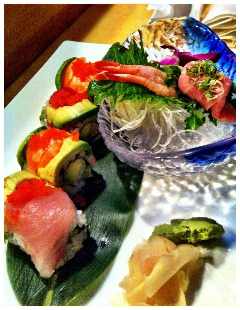 Rainbow roll toro as ebi perfect yelp for Asuka japanese cuisine
