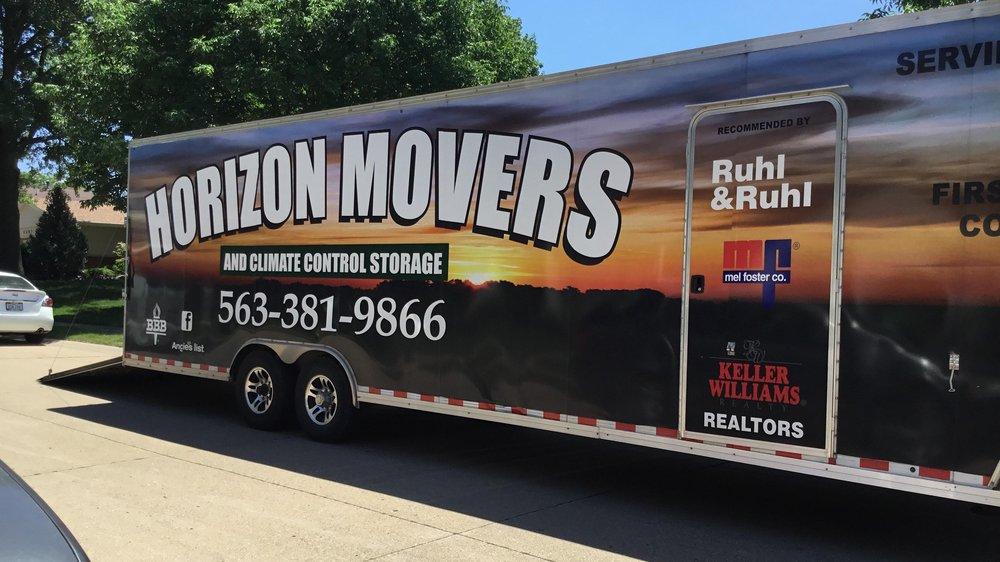 Horizon Movers & Climate Control Storage: 10981 118th St, Davenport, IA