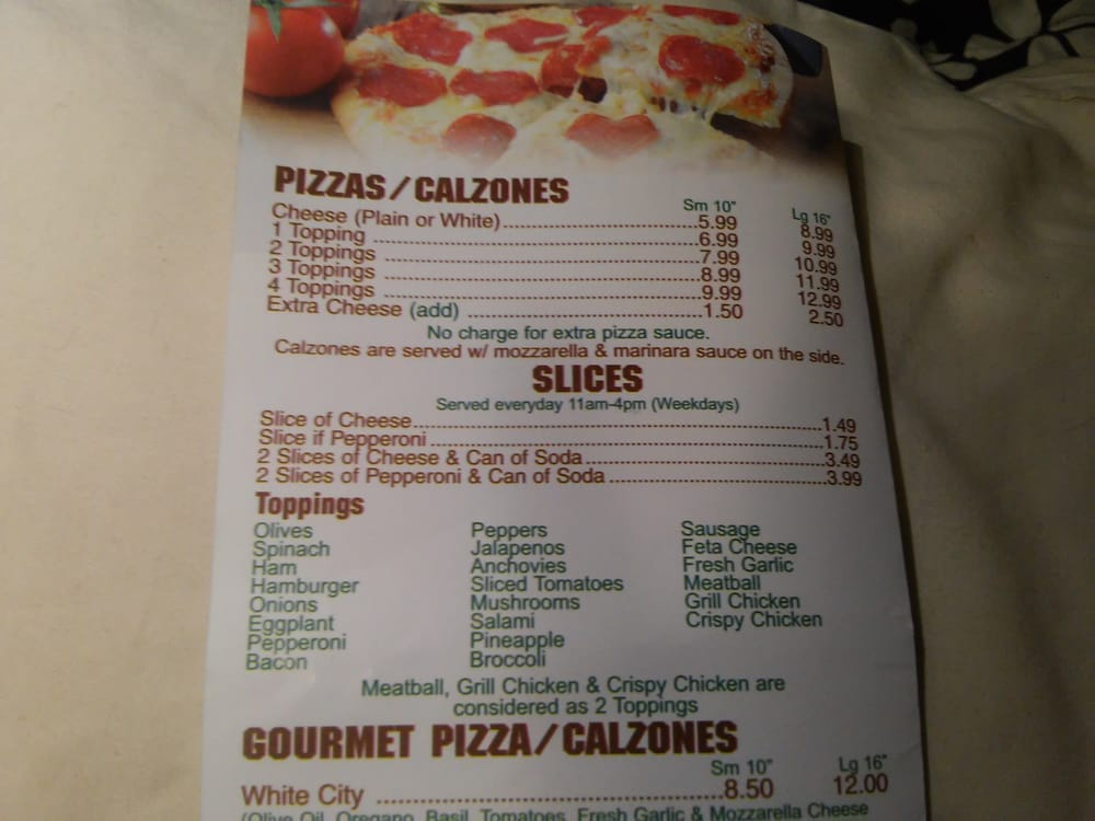 Tool Town Pizza: 246 Exchange St, Athol, MA