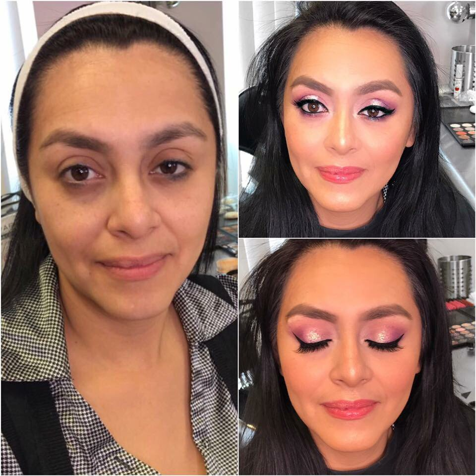 Makeup before and after yelp for A touch of beauty salon