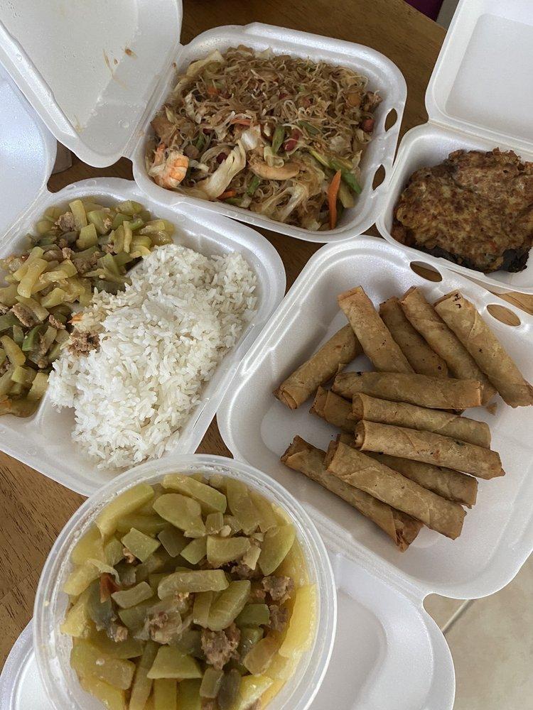 Food from Mama Lu's