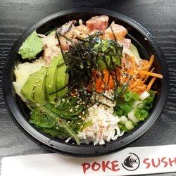 Photo of Poke Sushi , Orange, CA, United States. Delicious Poke Bowl!