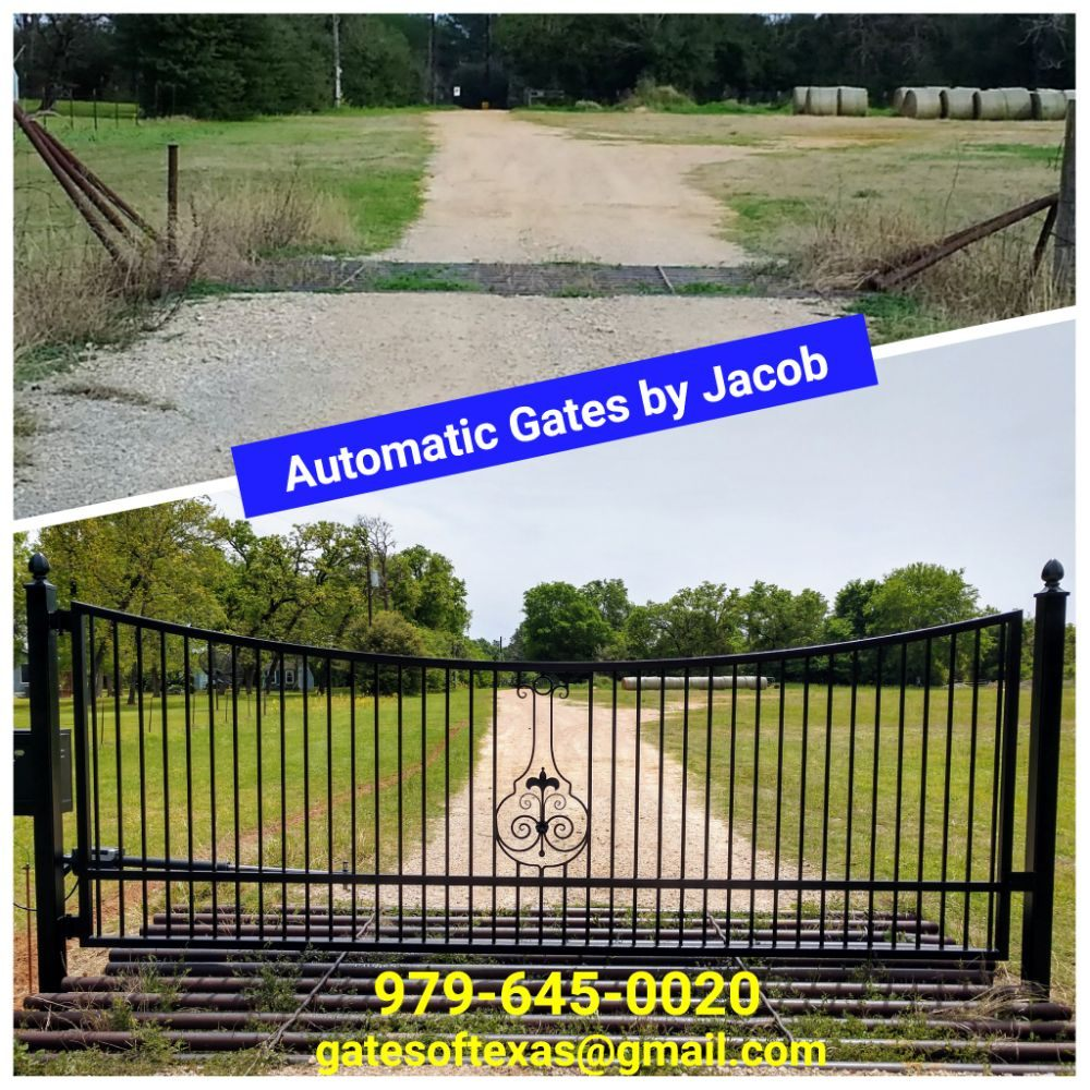 Automatic Gates By Jacob: College Station, TX