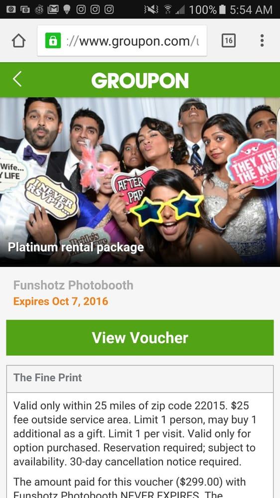 Funshotz Photobooth: Arlington, VA