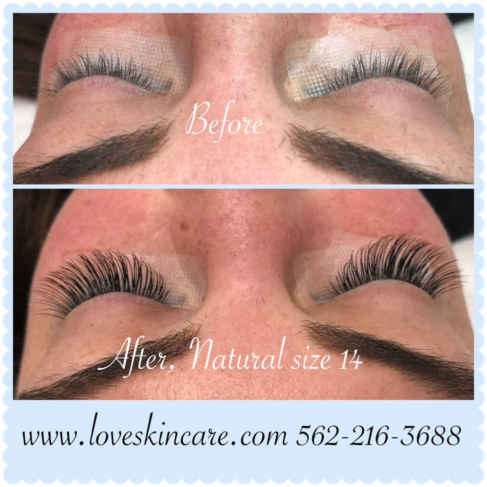 75716a7fe38 Photo of Love Skin Care - Long Beach, CA, United States. Eyelash extensions
