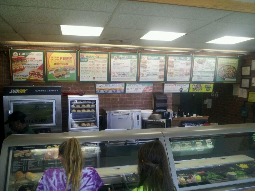 Subway: 1121 Audubon Ave, Thibodaux, LA