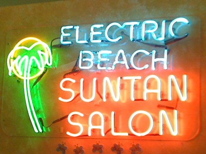 Electric Beach Sunshine Center & Boardwalk Shop: 513 Pine Lake Ave, Laporte, IN
