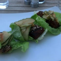 Photo Of Eden Vegetarian Cafe Bar Harbor Me United States Korean Bbq