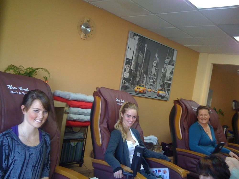 Aisling germaine and susahn getting the full spa for 24 hr nail salon nyc