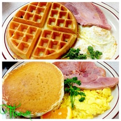Photo Of Mollies Country Kitchen Laa Niguel Ca United States Belgium Waffle