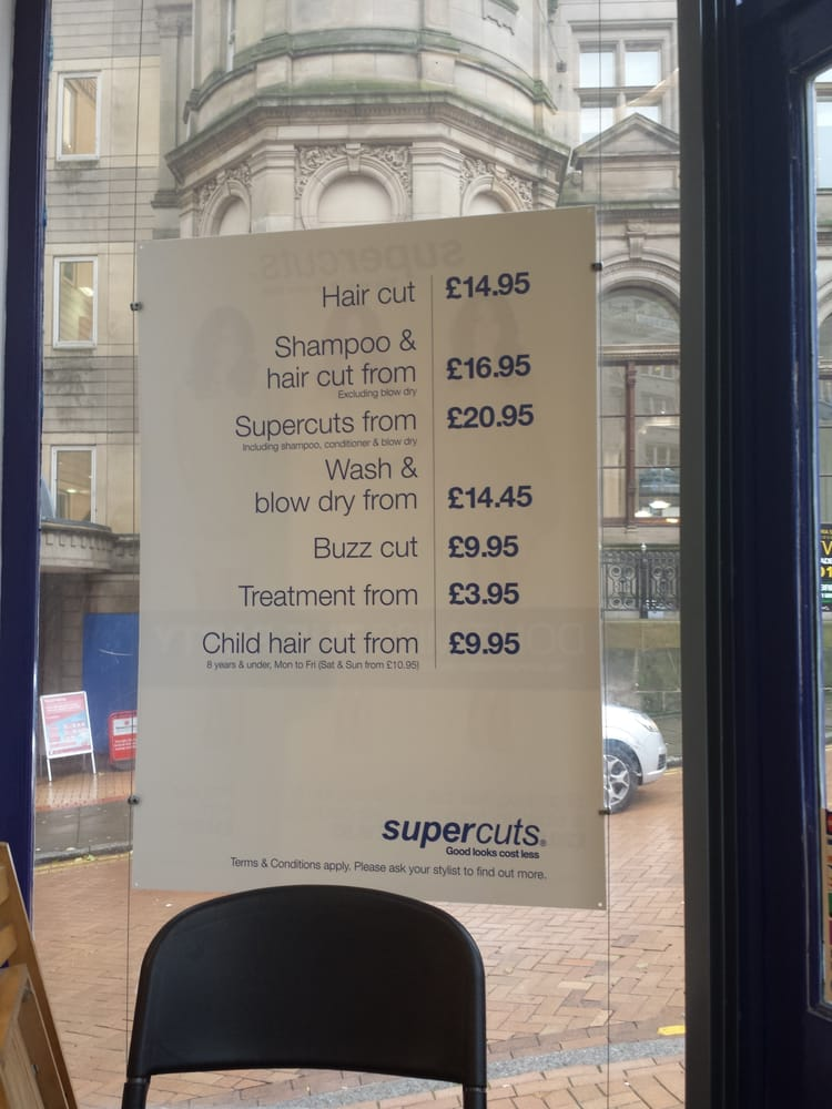 Supercuts Hairdressers 80 New Street City Core Birmingham
