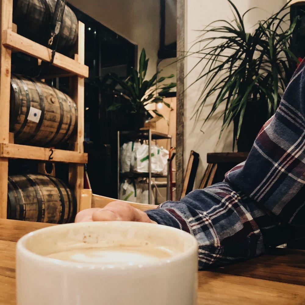 Barrel House Coffee: 275 Gilmer Ferry Rd, Ball Ground, GA