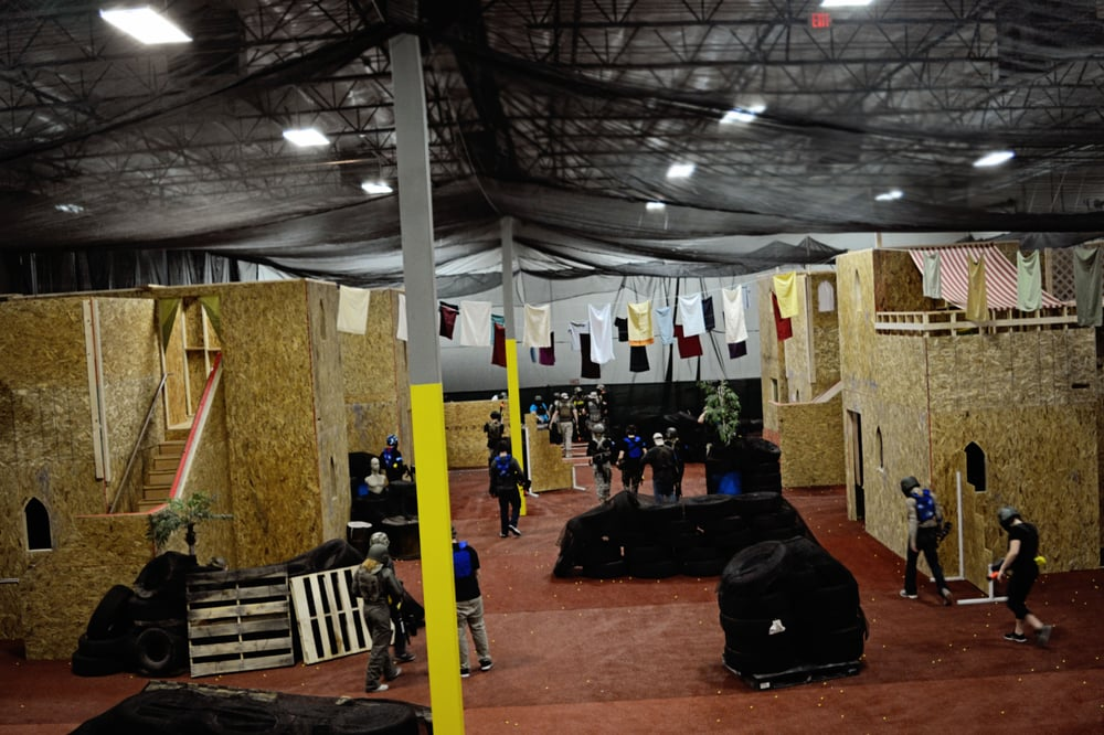 Located inside the TacVille Training Center-a 2-story indoor Urban