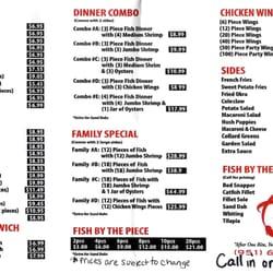Aj s fish market 105 photos 229 reviews chicken for Lawrence fish market menu