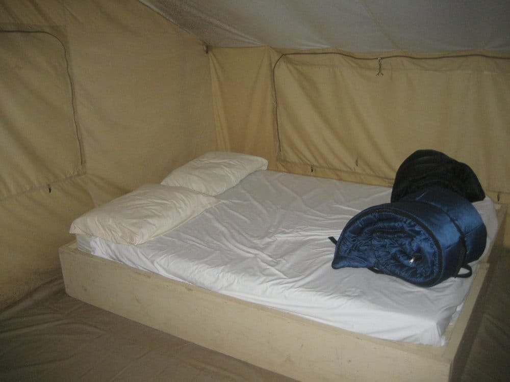 Cabin Tent Interior Yelp