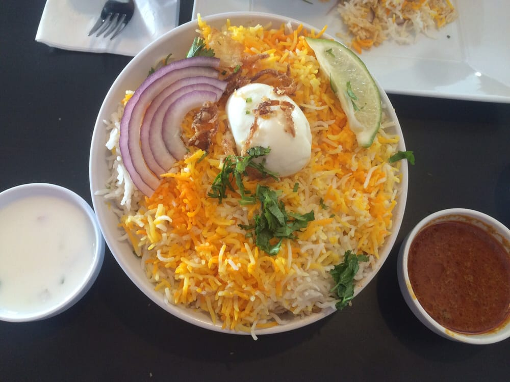 Chicken biryani with raita and salan yelp for 8 elements perfect indian cuisine