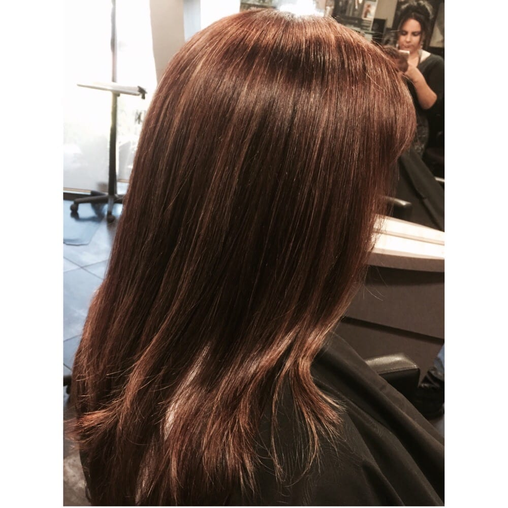 Very Subtle Mahogany Brown Weave By Violette Yelp