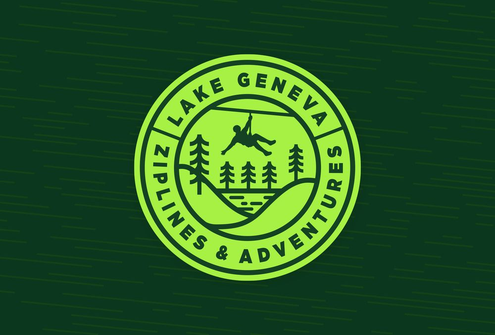 Lake Geneva Ziplines & Adventures: N3232 County Rd H, Lake Geneva, WI