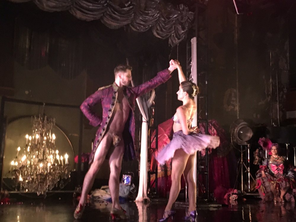 Nutcracker Rouge: Minetta Lane Theatre, New York, NY