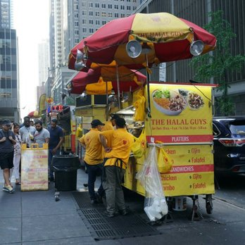 photo of the halal guys new york ny united states no wait