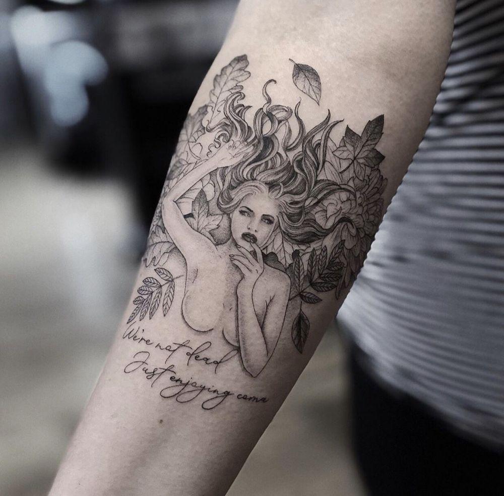 The Black Labyrinth Tattoo Syndicate: 46 Union St, Easthampton, MA