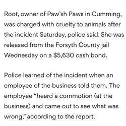 Paw Sh Paws - Pet Groomers - 530 Lake Center Pkwy, Cumming, GA